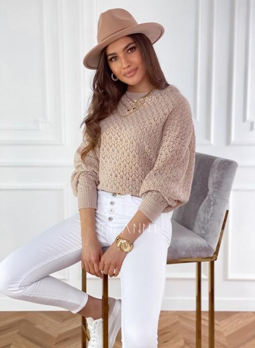 Sweter Lumia w kolorze beżowym