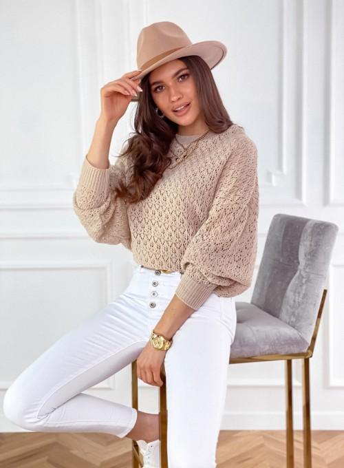 Sweter Lumia w kolorze beżowym 2