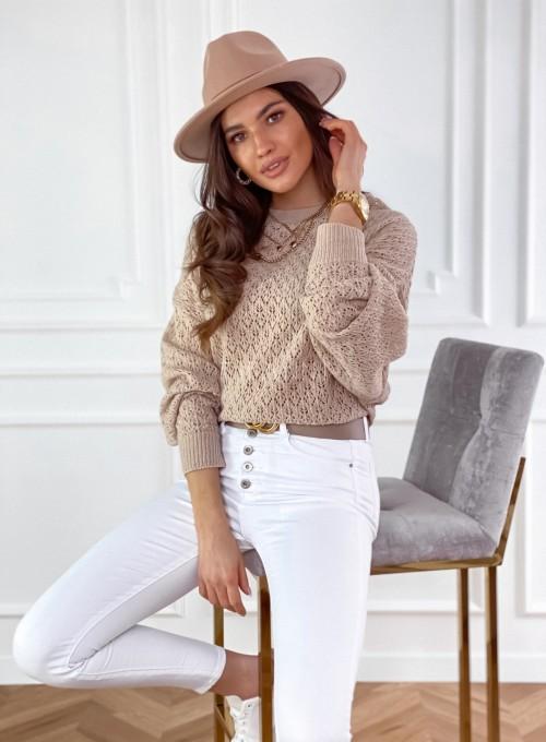 Sweter Lumia w kolorze beżowym 3