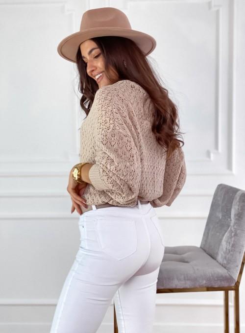 Sweter Lumia w kolorze beżowym 4