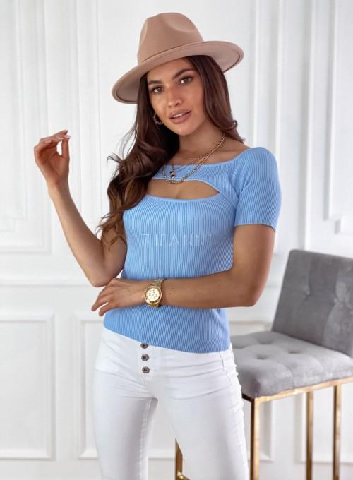 Bluzka Laura blue 3