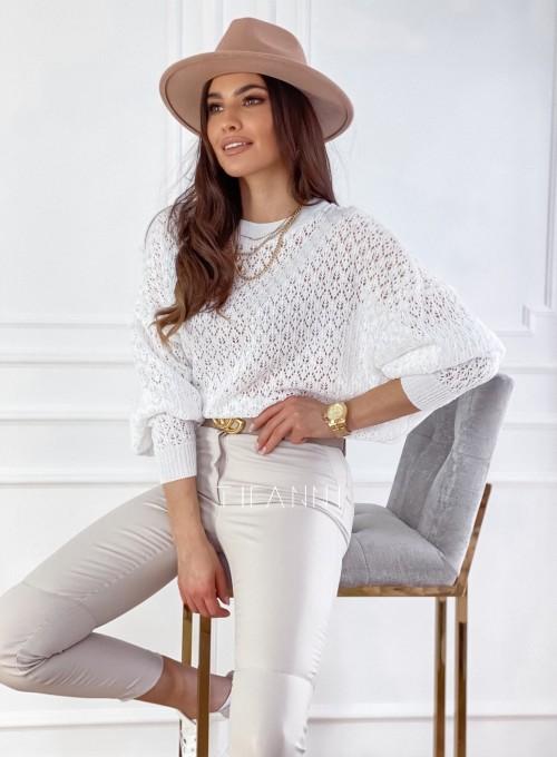 Sweter Lumia w kolorze białym 3