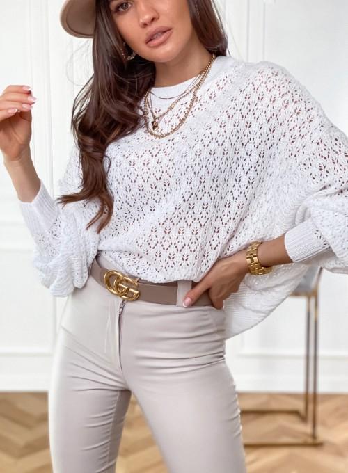 Sweter Lumia w kolorze białym 1