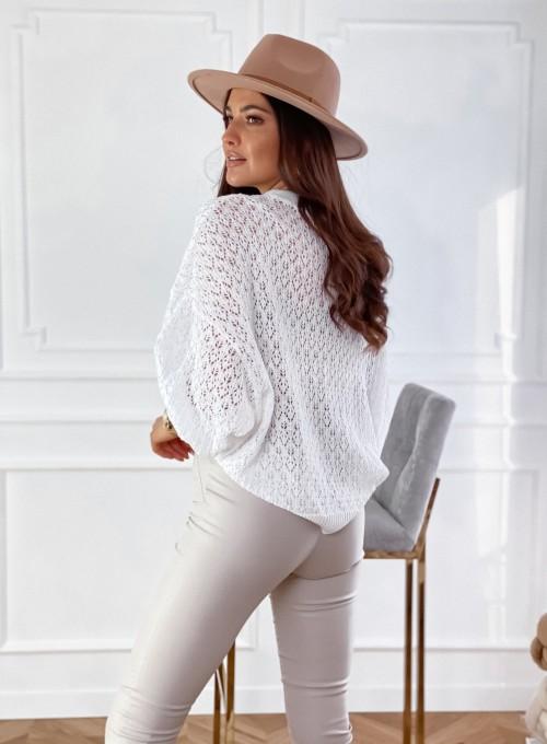 Sweter Lumia w kolorze białym 5