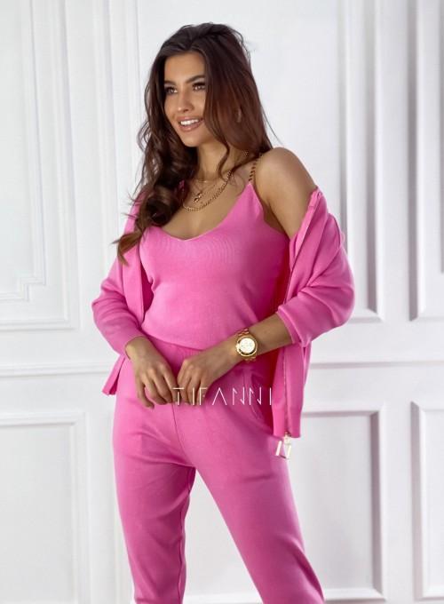 Dres trzyczęściowy Mija pink