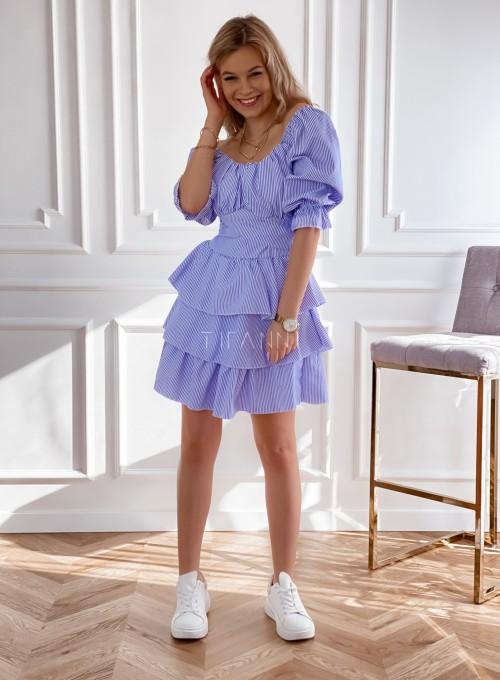 Sukienka w paski Palmi 2
