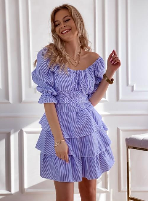 Sukienka w paski Palmi 3
