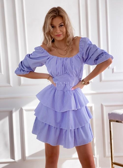 Sukienka w paski Palmi 4