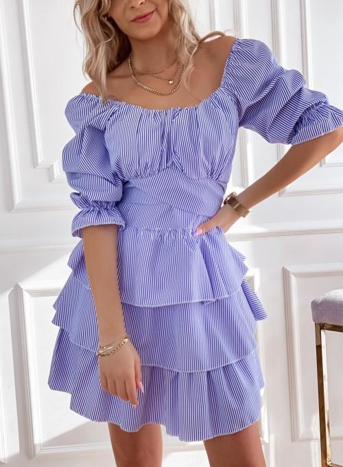 Sukienka w paski Palmi 1
