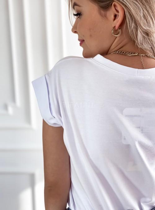 T-shirt Milan biały 4
