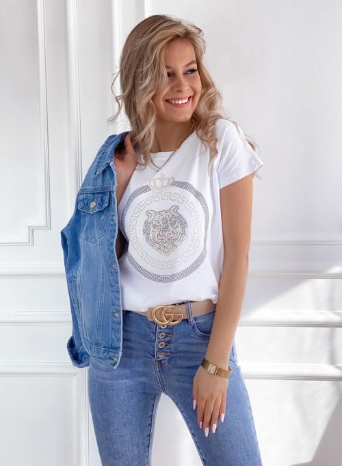 T-shirt Lion biały 3