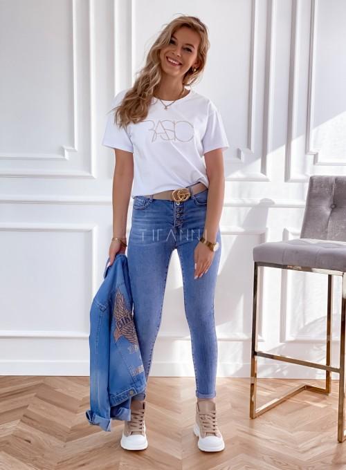 T-shirt Basic biały 2