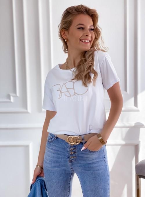 T-shirt Basic biały 4