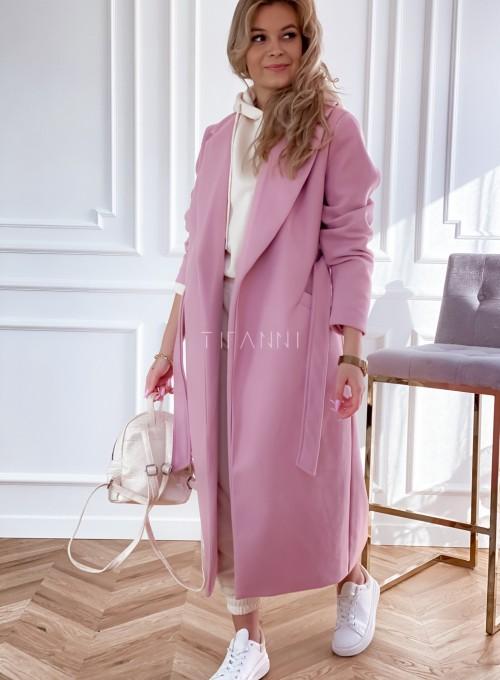 Płaszcz Brilante w kolorze pudrowym 4