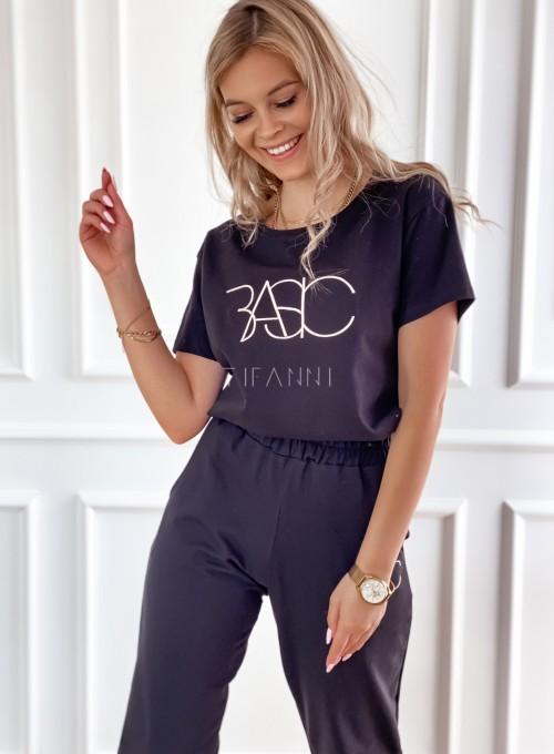 T-shirt Basic czarny 1