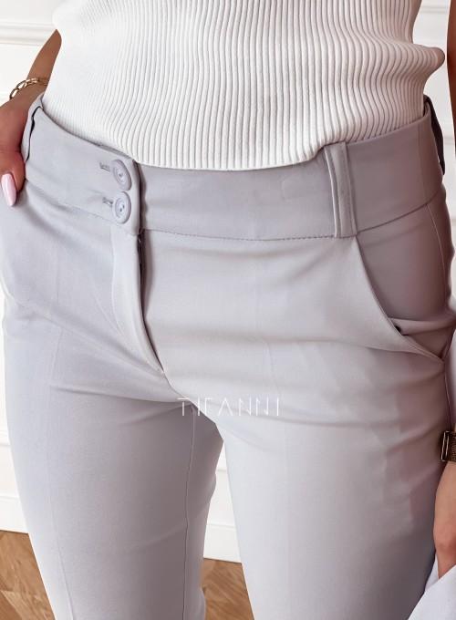 Spodnie Bonni popiel 3