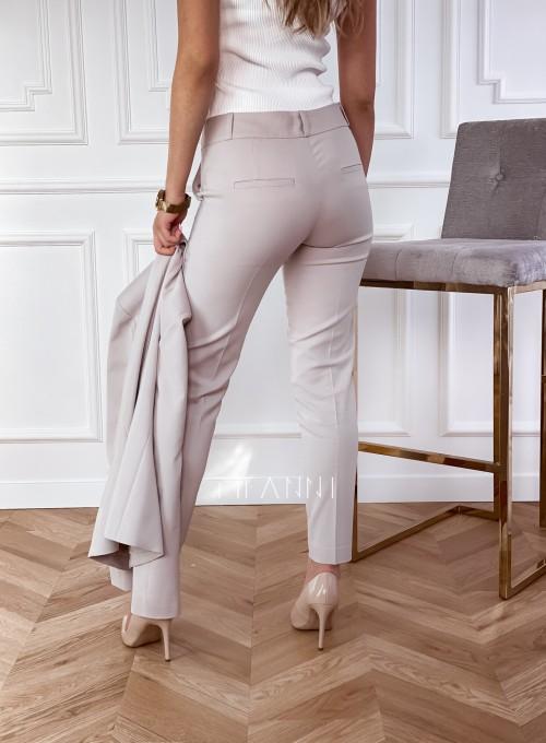 Spodnie Bonni beżowe 3