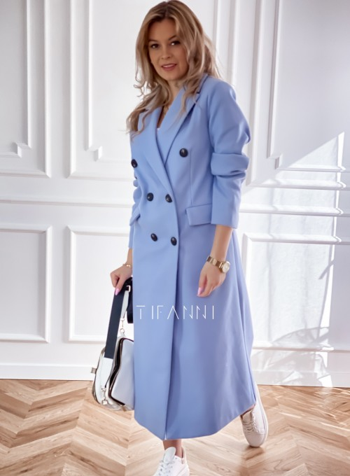Płaszcz Lari w kolorze blue 1