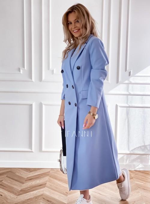 Płaszcz Lari w kolorze blue 4