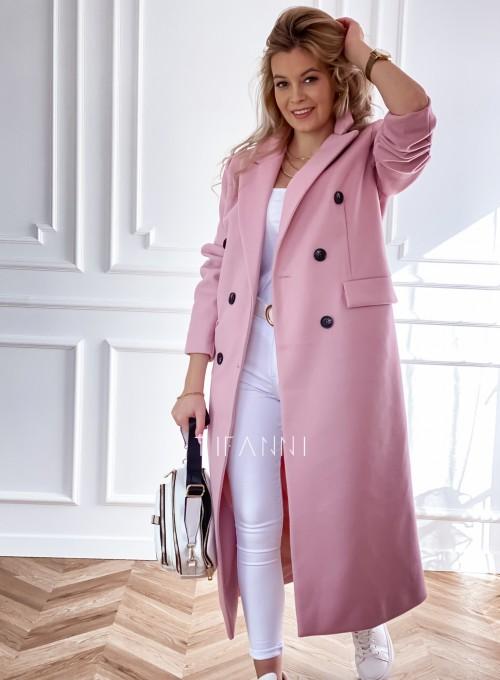 Płaszcz Lari w kolorze pudrowym 2