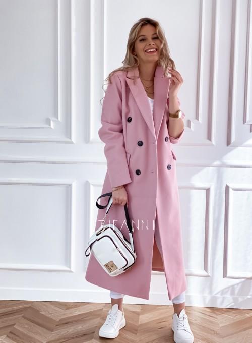 Płaszcz Lari w kolorze pudrowym 3