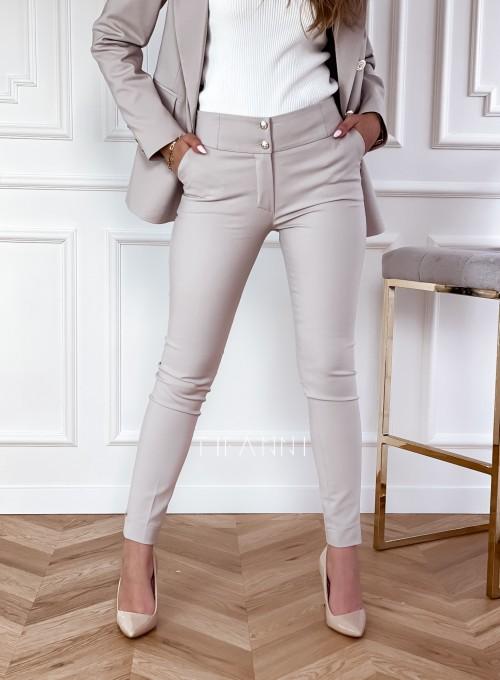 Spodnie Livardi beż