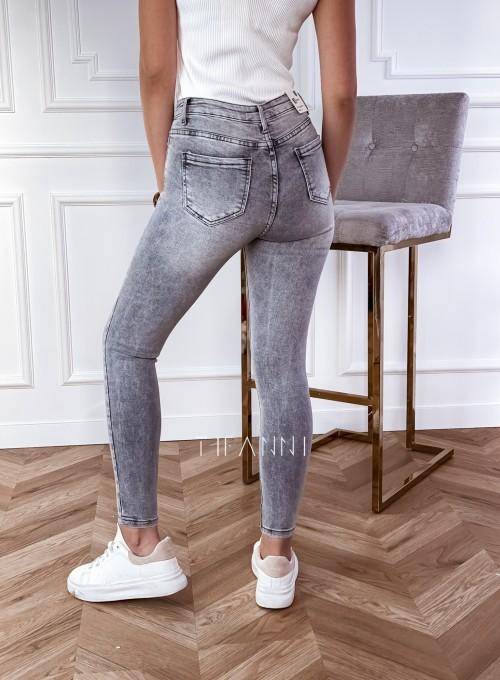 Spodnie jeansowe Papi szare 2