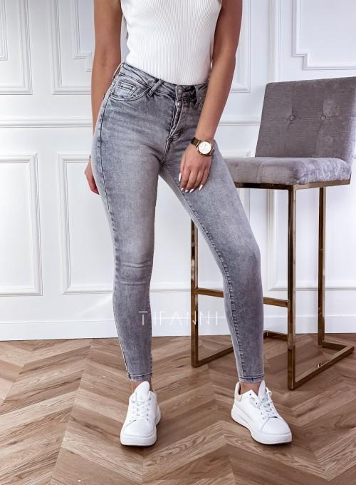 Spodnie jeansowe Papi szare 3