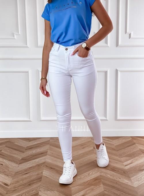 Spodnie jeansowe Pax białe