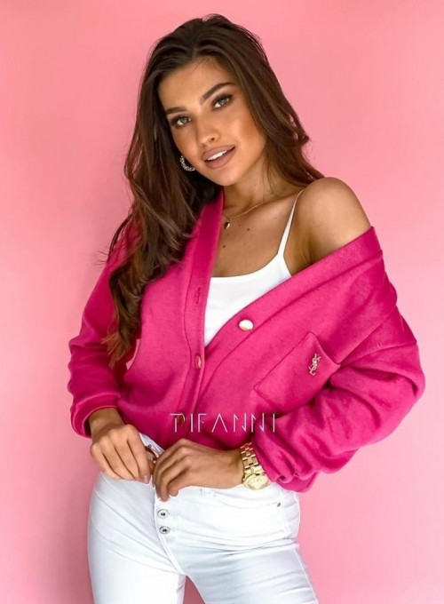 Sweter Daffi pink