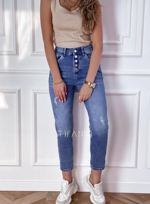 Spodnie jeansowe Mom Fit Verra 5