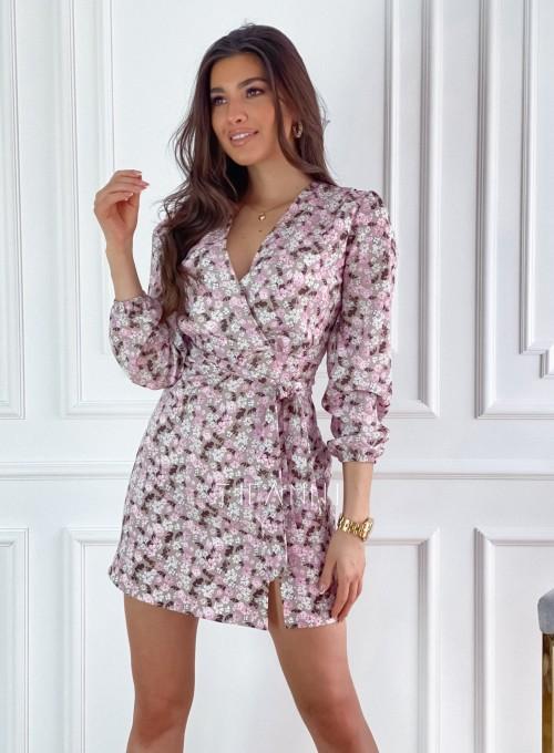 Sukienka Bora w kwiatki