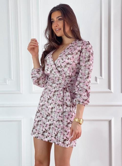 Sukienka Bora w kwiatki 6