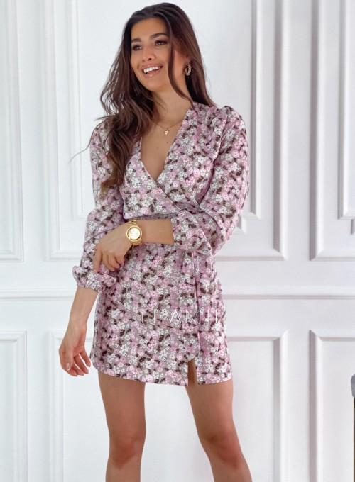 Sukienka Bora w kwiatki 3
