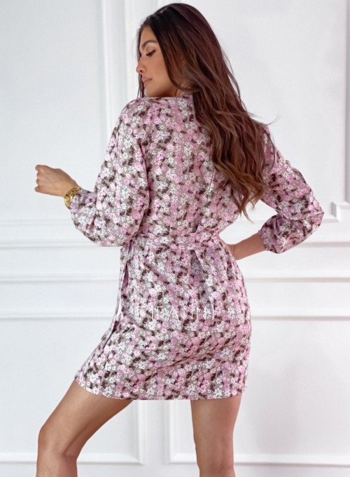 Sukienka Bora w kwiatki 7