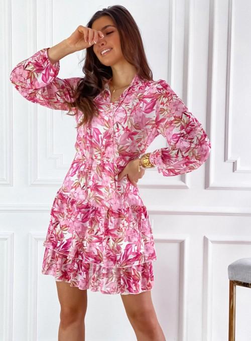 Sukienka Debi pink
