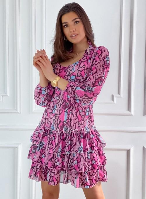 Sukienka z falbankami Verona 4