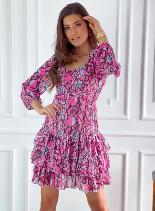 Sukienka z falbankami Verona 6