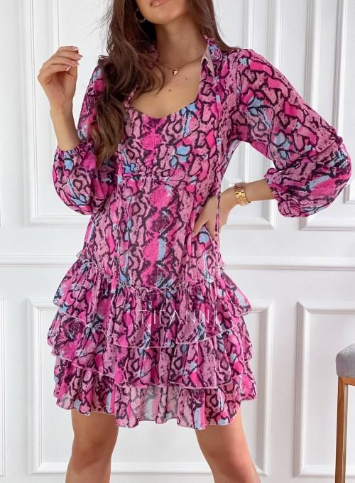 Sukienka z falbankami Verona 1