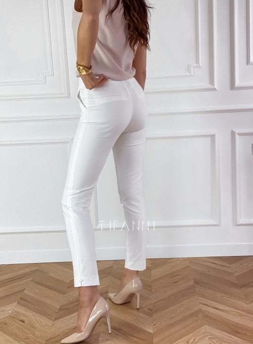 Spodnie Livardi śmietankowe 2