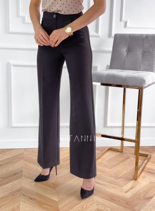 Eleganckie spodnie Salin czarne