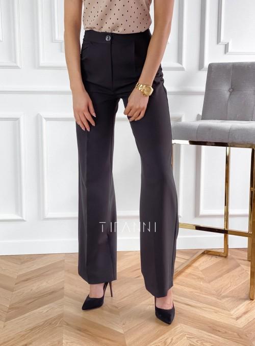 Eleganckie spodnie Salin czarne 5