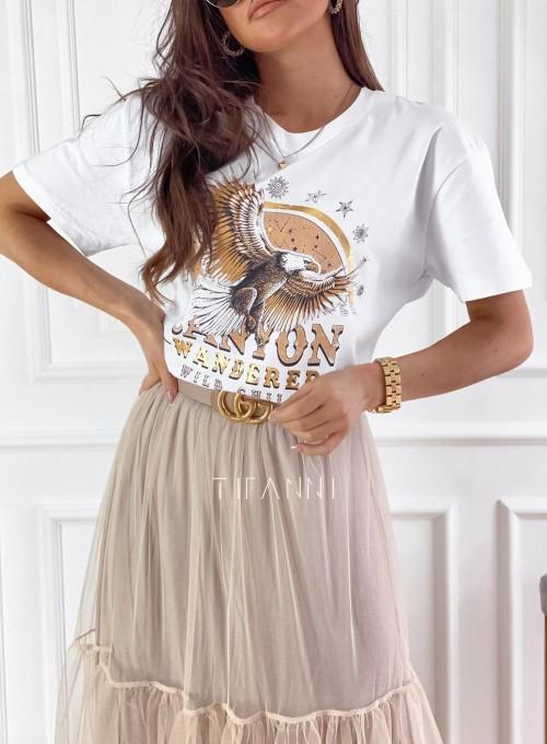 T-shirt Canyon biały 1