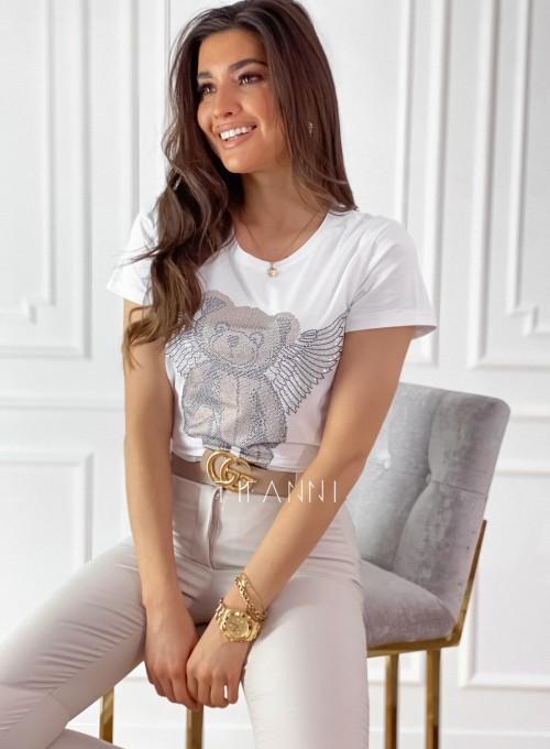 T-shirt Beri biały