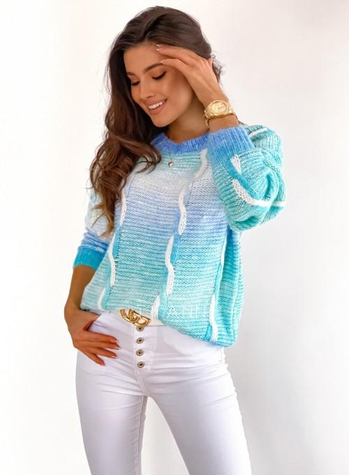 Sweter Lizi z warkoczem 3