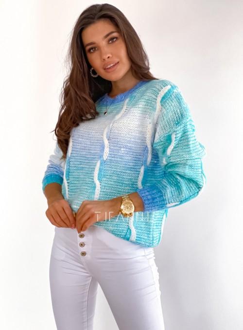 Sweter Lizi z warkoczem 4