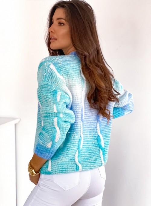 Sweter Lizi z warkoczem 5