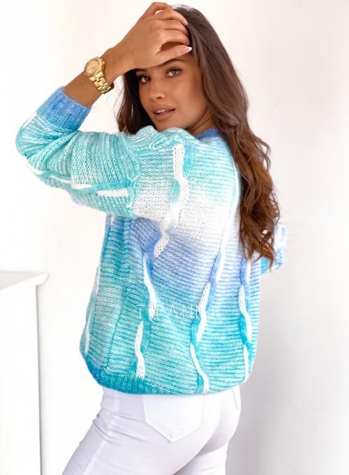 Sweter Lizi z warkoczem 6