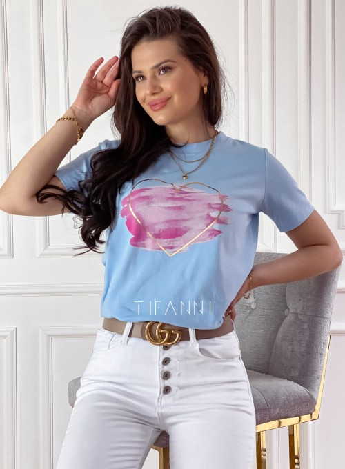 T-shirt Carmela blue 2
