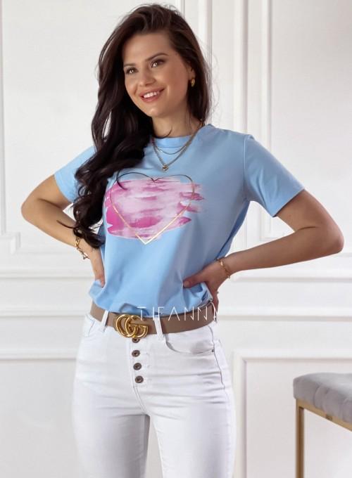 T-shirt Carmela blue 3